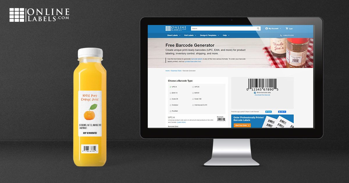 Using barcode labels to track inventory and sales