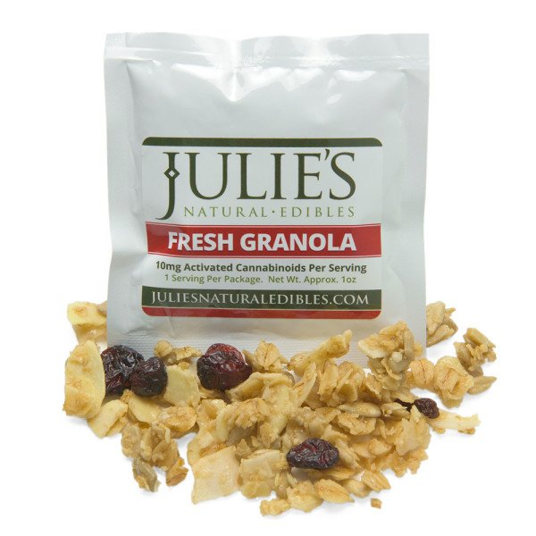 Crumbled granola by Julie's Natural Edibles