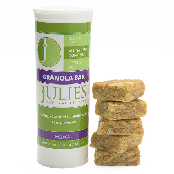 Granola bar by Julie's Natural Edibles