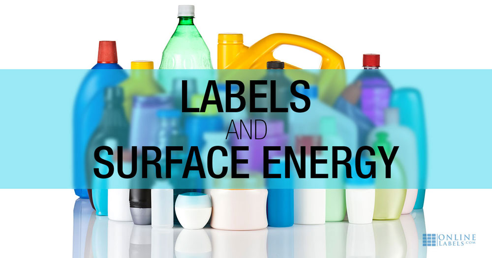 Surface Energy and Labels: The Unscientific Guide