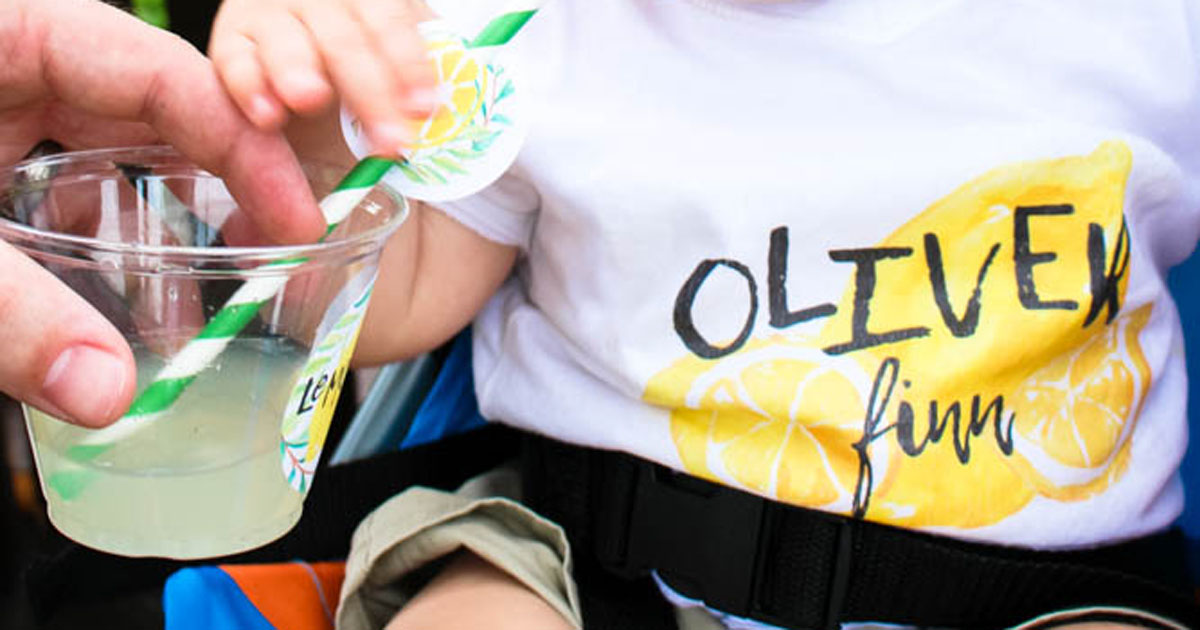Look professional at your neighborhood lemonade stand with branded tshirts