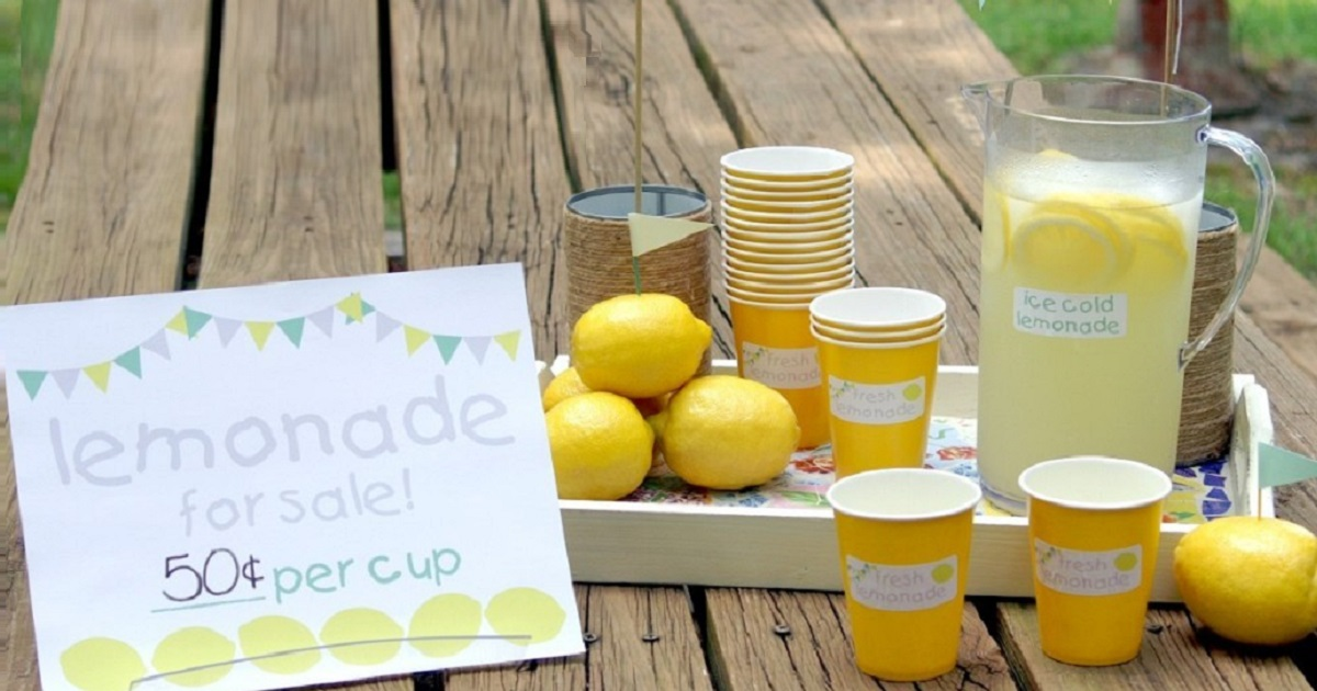 How to make the best lemonade stand for your kids