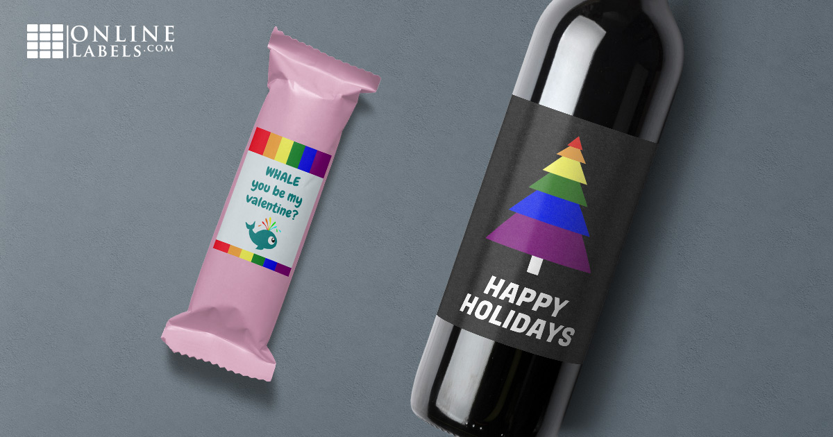 Celebrate love with these LGBT-friendly printable templates for a variety of holidays