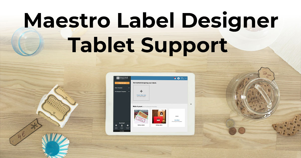 Maestro Label Designer Tablet Support