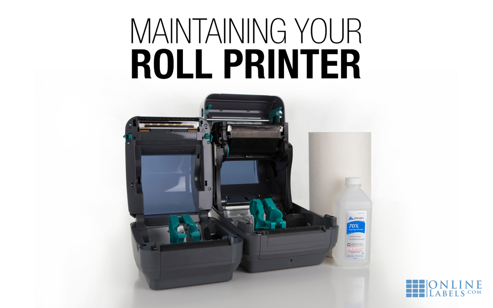 How to maintain your dedicated roll printer