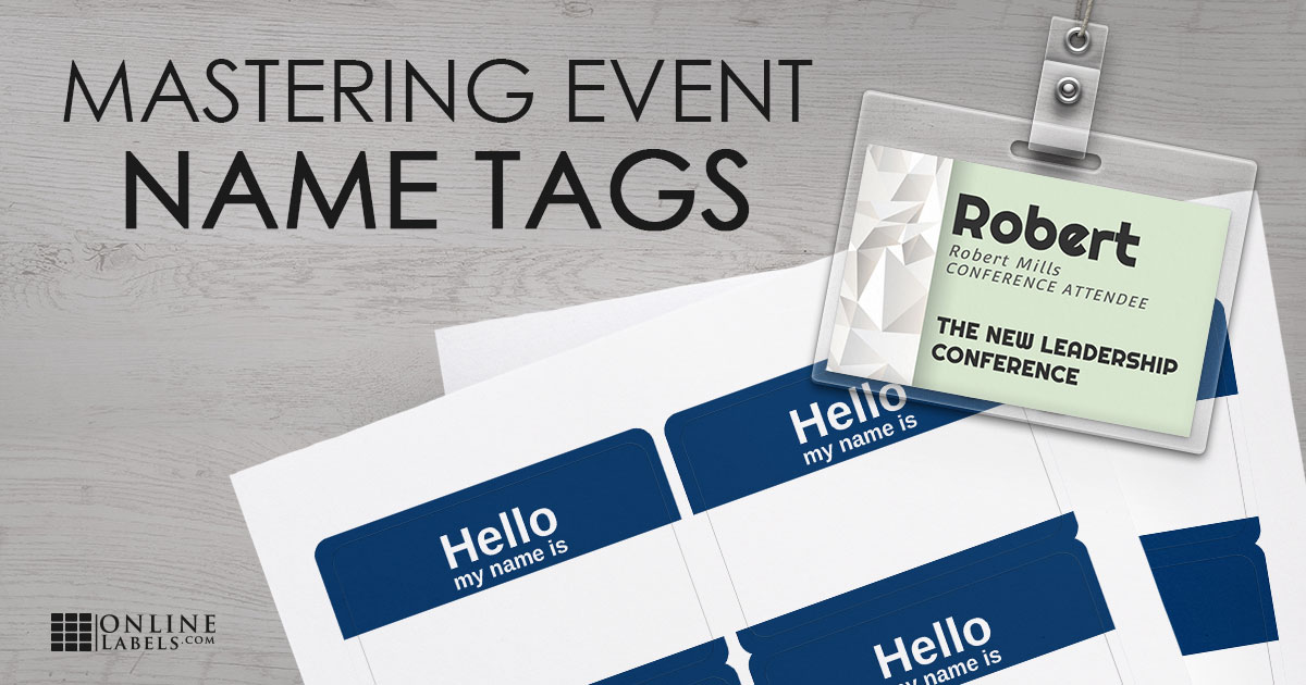 9 Easy Steps to Create Name Tags For Your Next Event