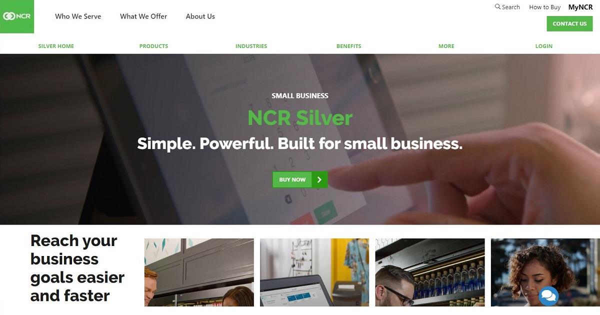 NCR POS homepage