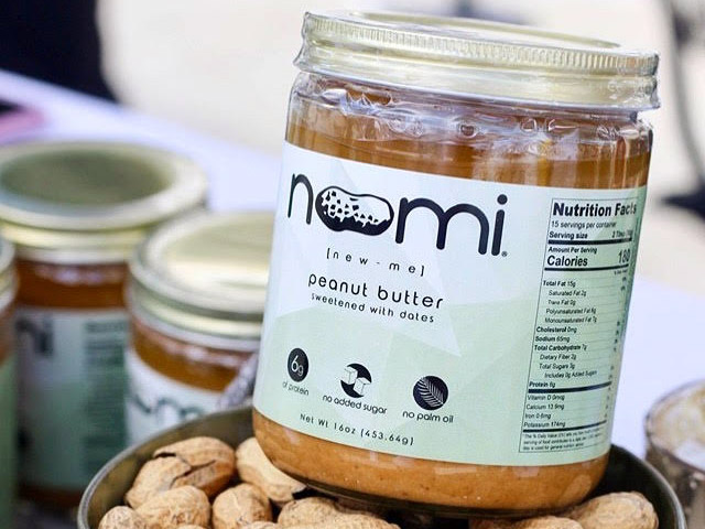 Noomi peanut butter products.