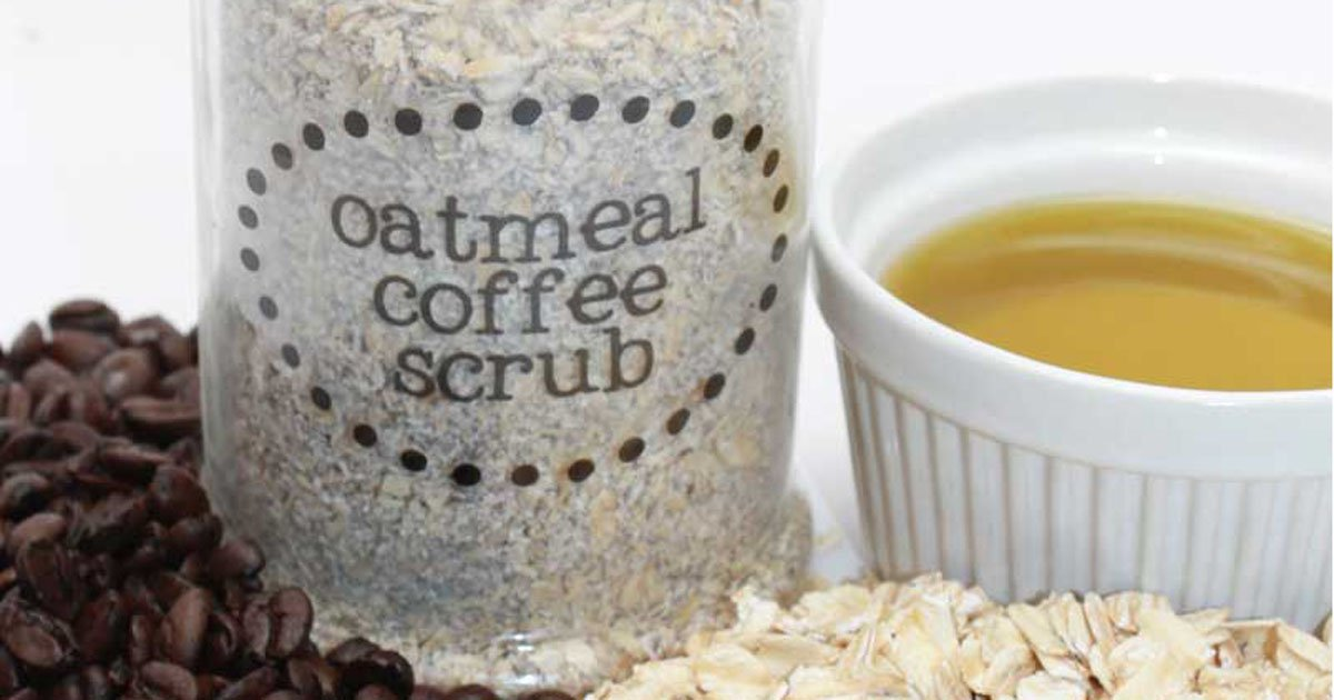 Recipe + printables for handmade oatmeal and coffee scrub