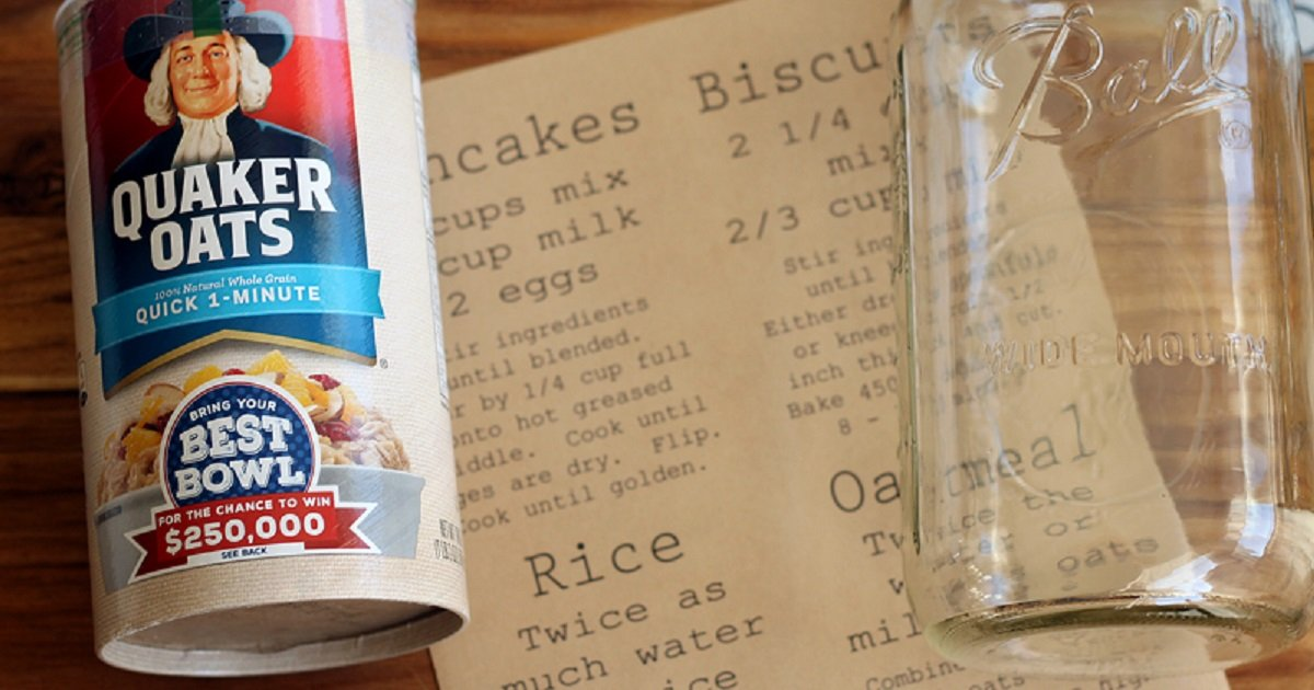 How to make pantry labels