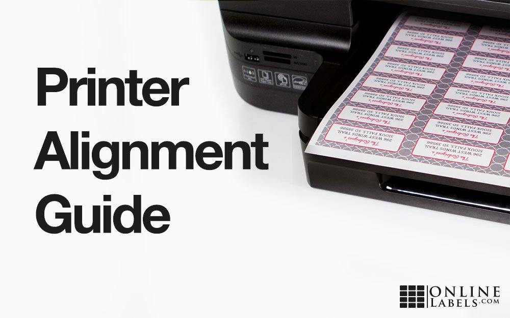 Label Printing Alignment Guide