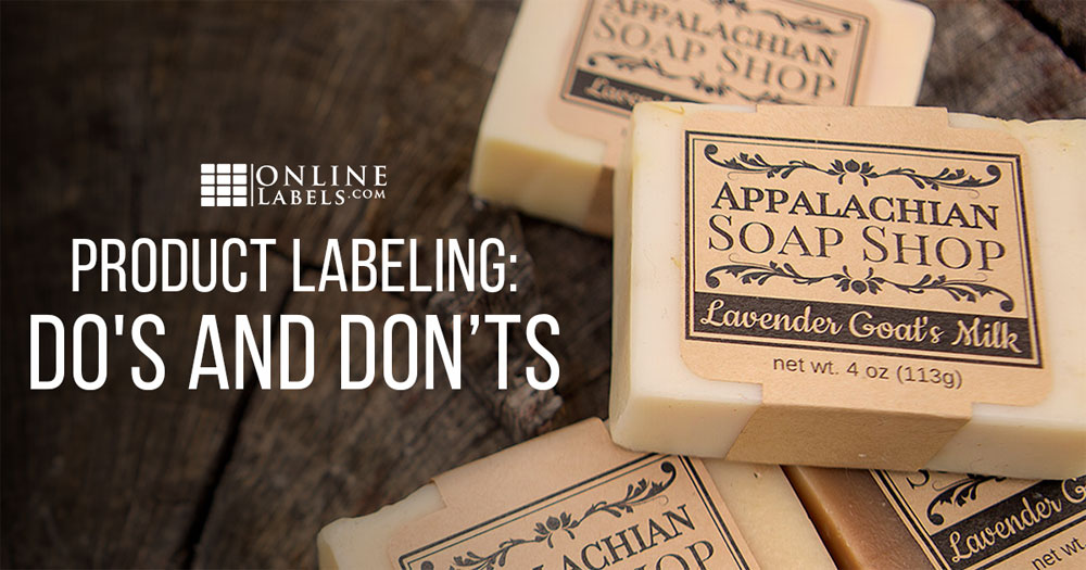 Product Labeling Do's and Don'ts