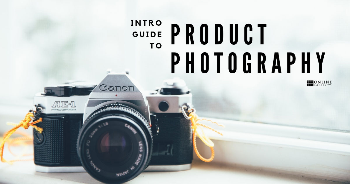 Product photography for beginners.
