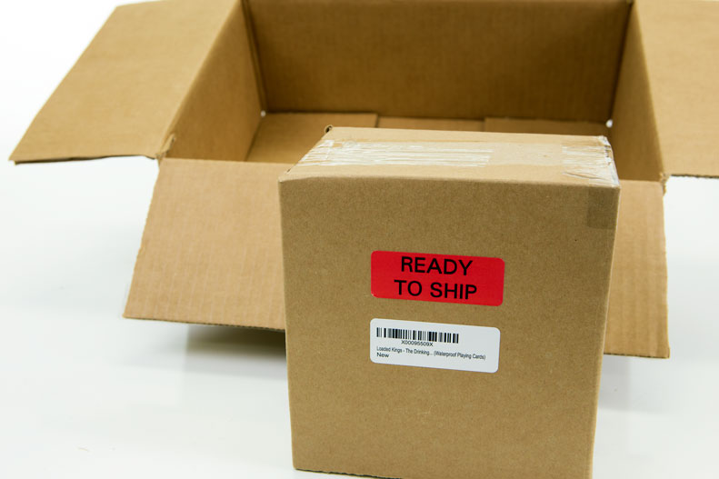 """Ready to ship"" label for use with Amazon FBA"