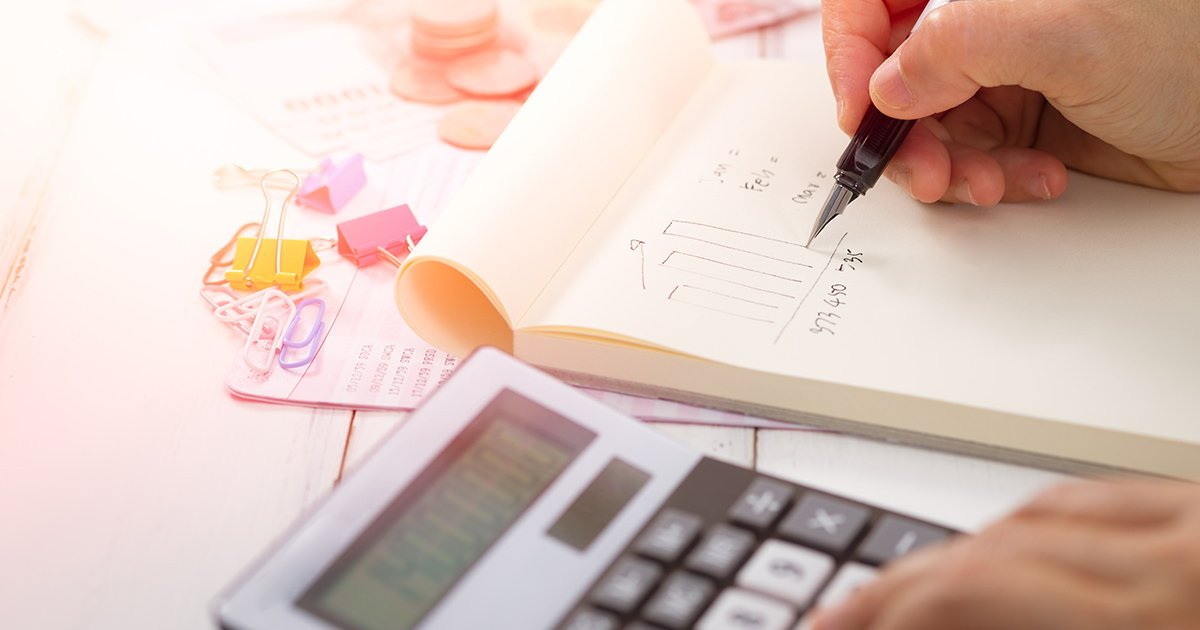 Adding up costs to determine your bottom line.