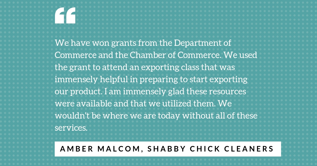 Quote from Amber Malcom on federal government aid.
