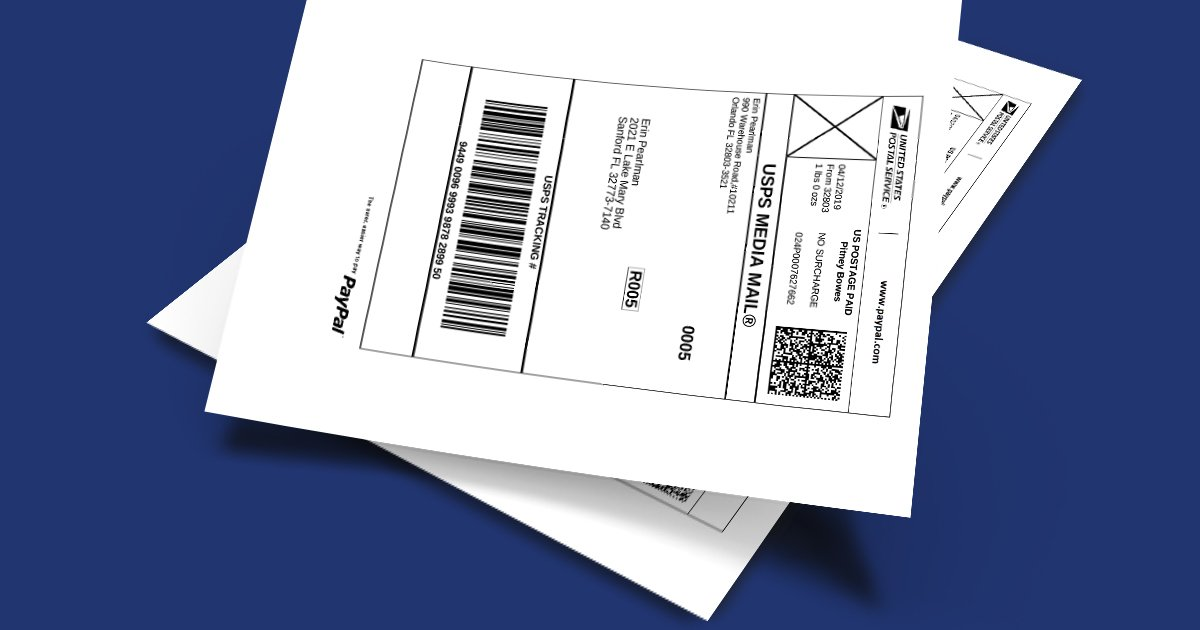 Best label products for printing PayPal shipping labels