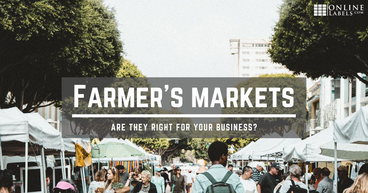 Learn if selling at a market is right for your business.