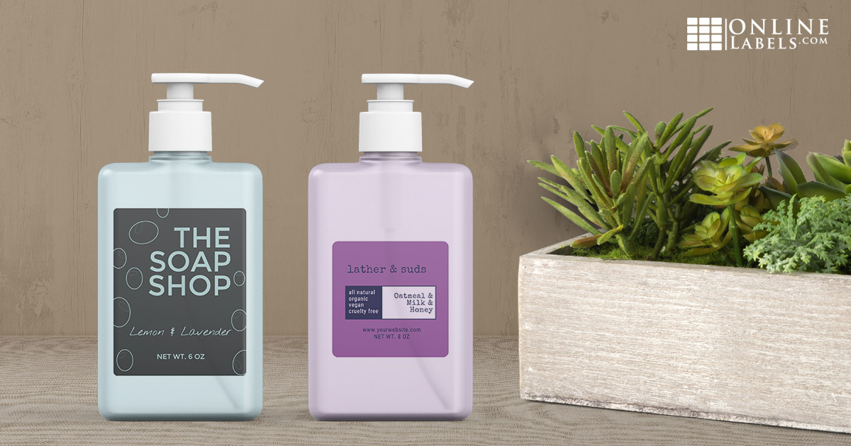 Soap label designs you can download for free