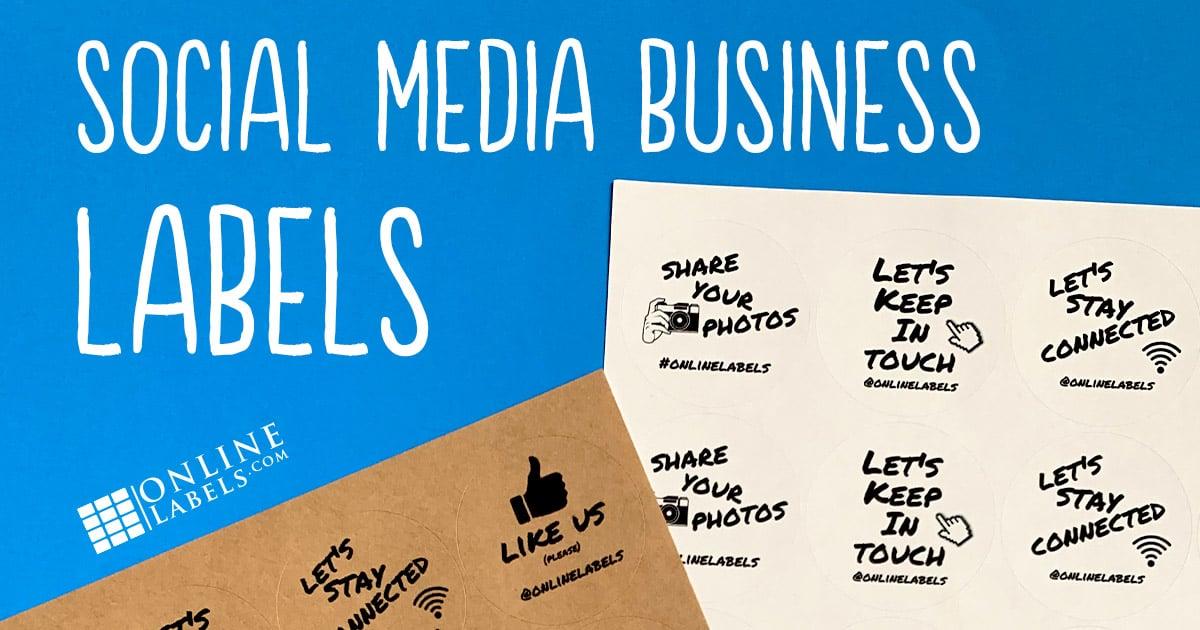 Social Media Business Labels