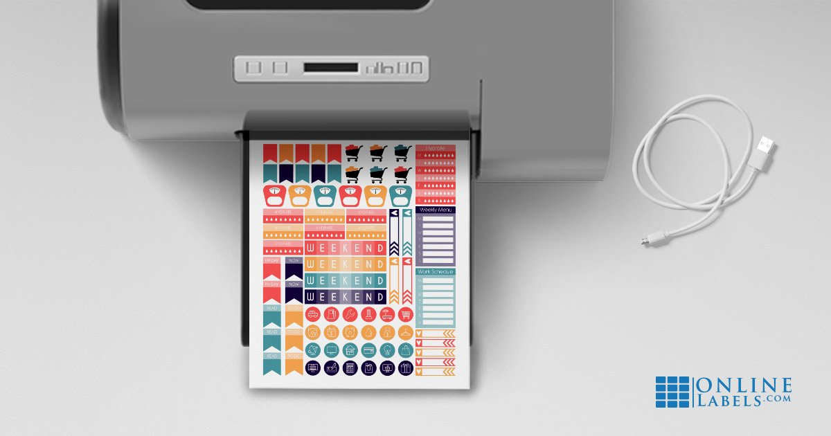 Is sticker paper printable? FAQ