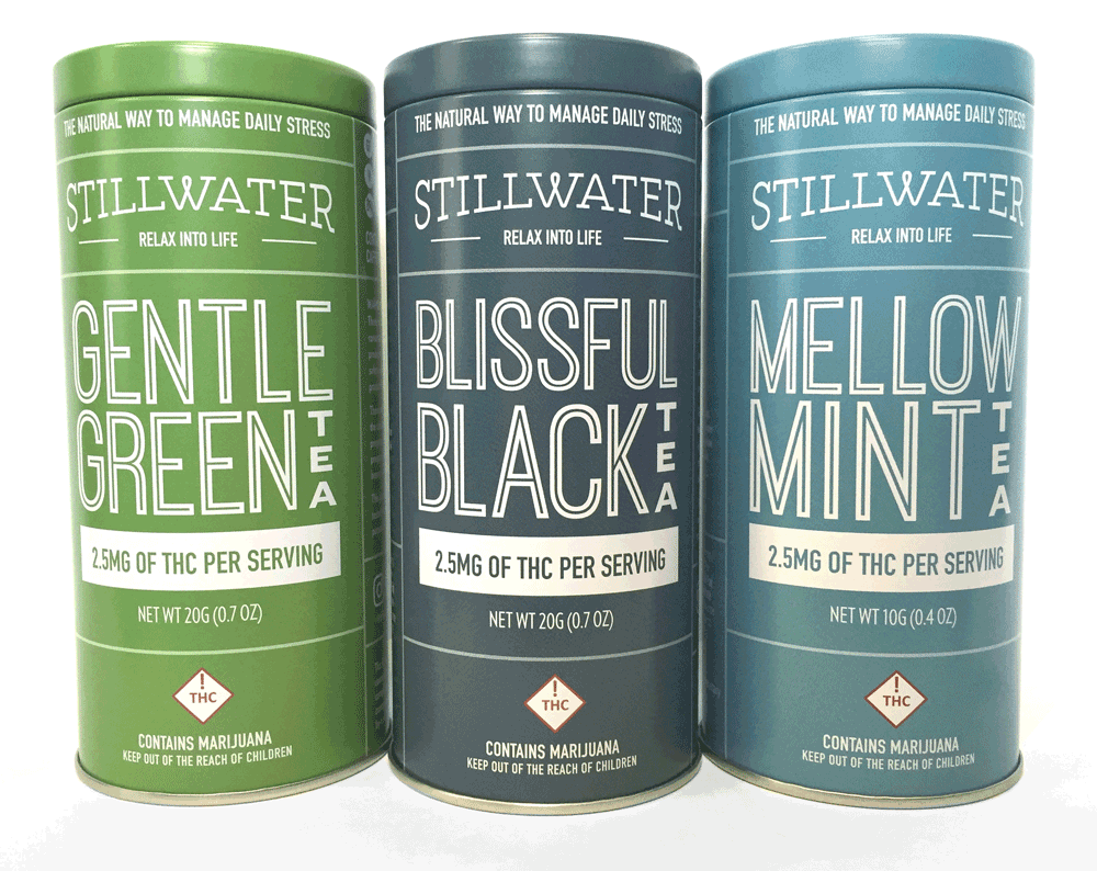 Stillwater's marijuana tea product line