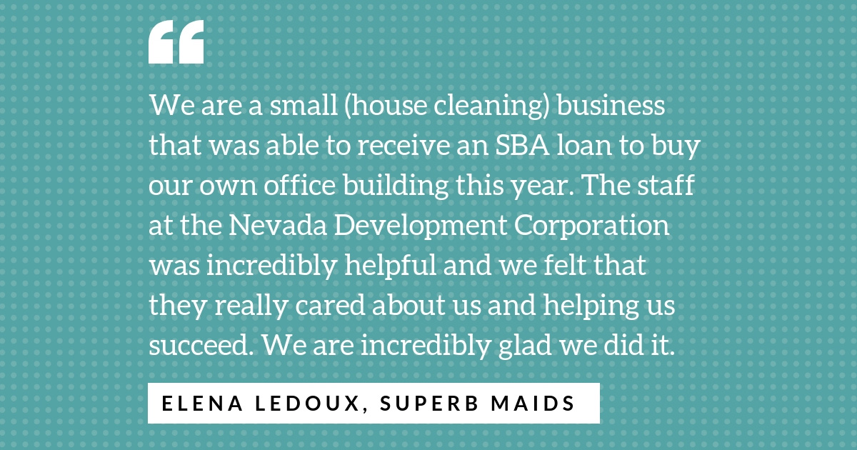 Quote from Elena Ledoux on state government aid.
