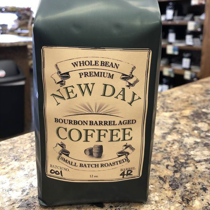 New Day Coffee Roasters bag label