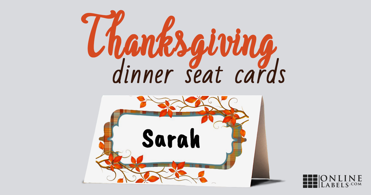 Thanksgiving Place Cards Tutorial + Free Printable