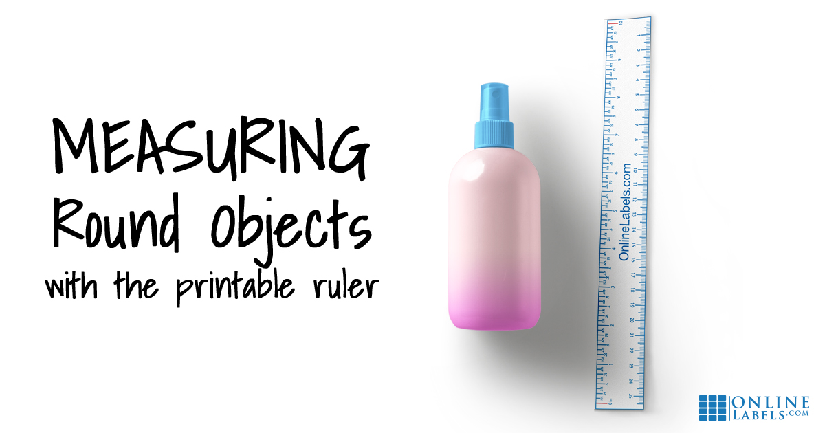 How to Find the Label Size You Need With the Printable Ruler