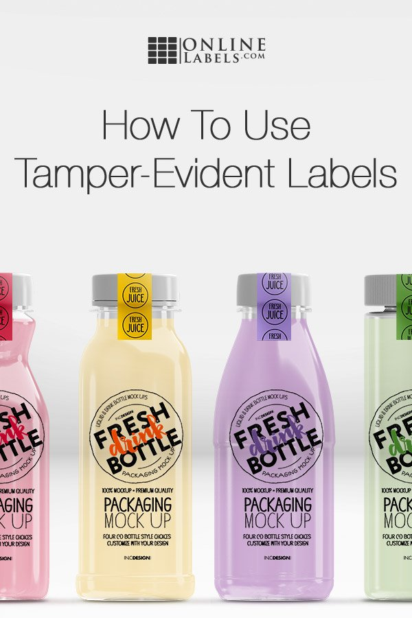 Why your business should use tamper-evident labels