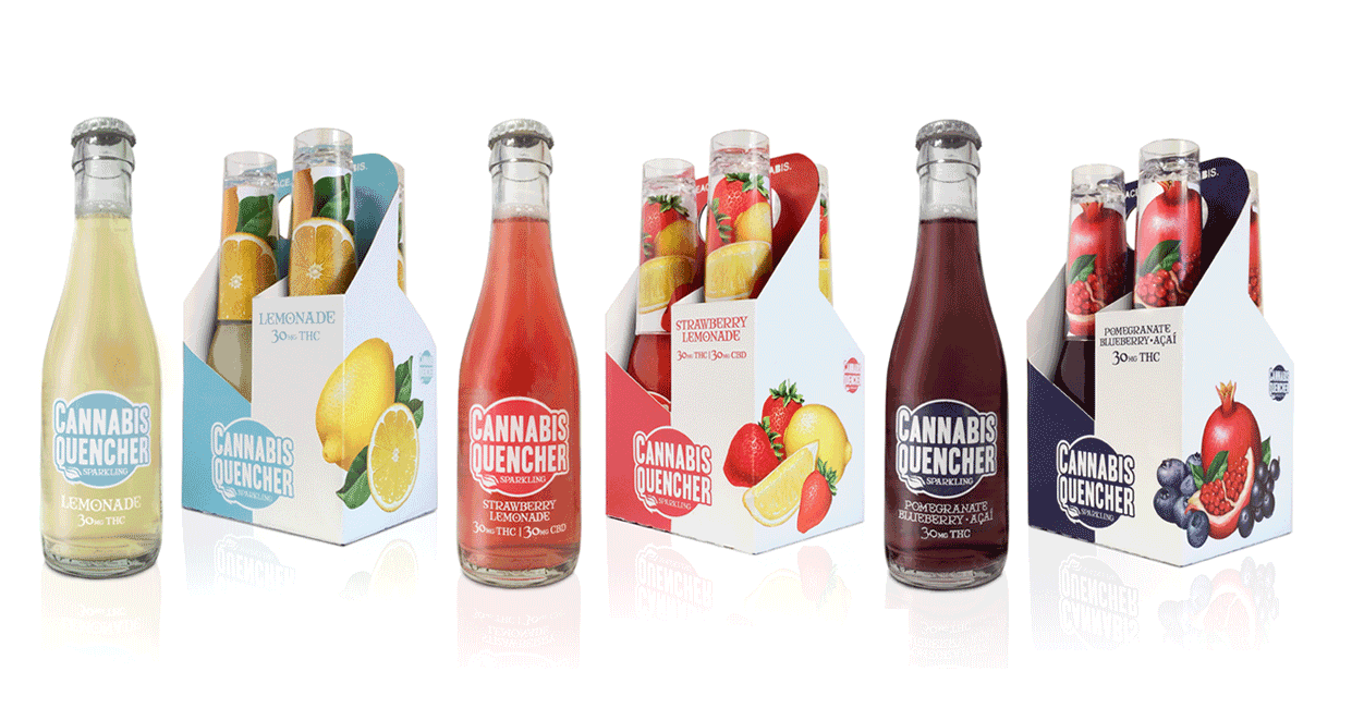 VCC Brands' sparkling cannabis quencher products