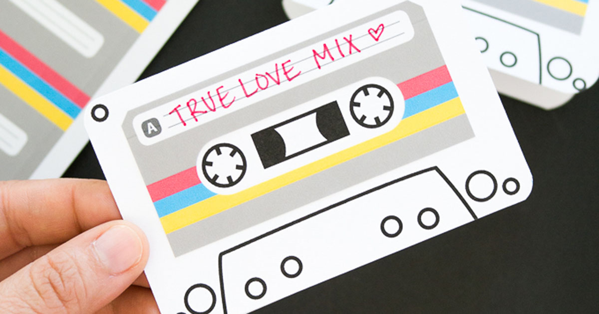 Custom cassette cards