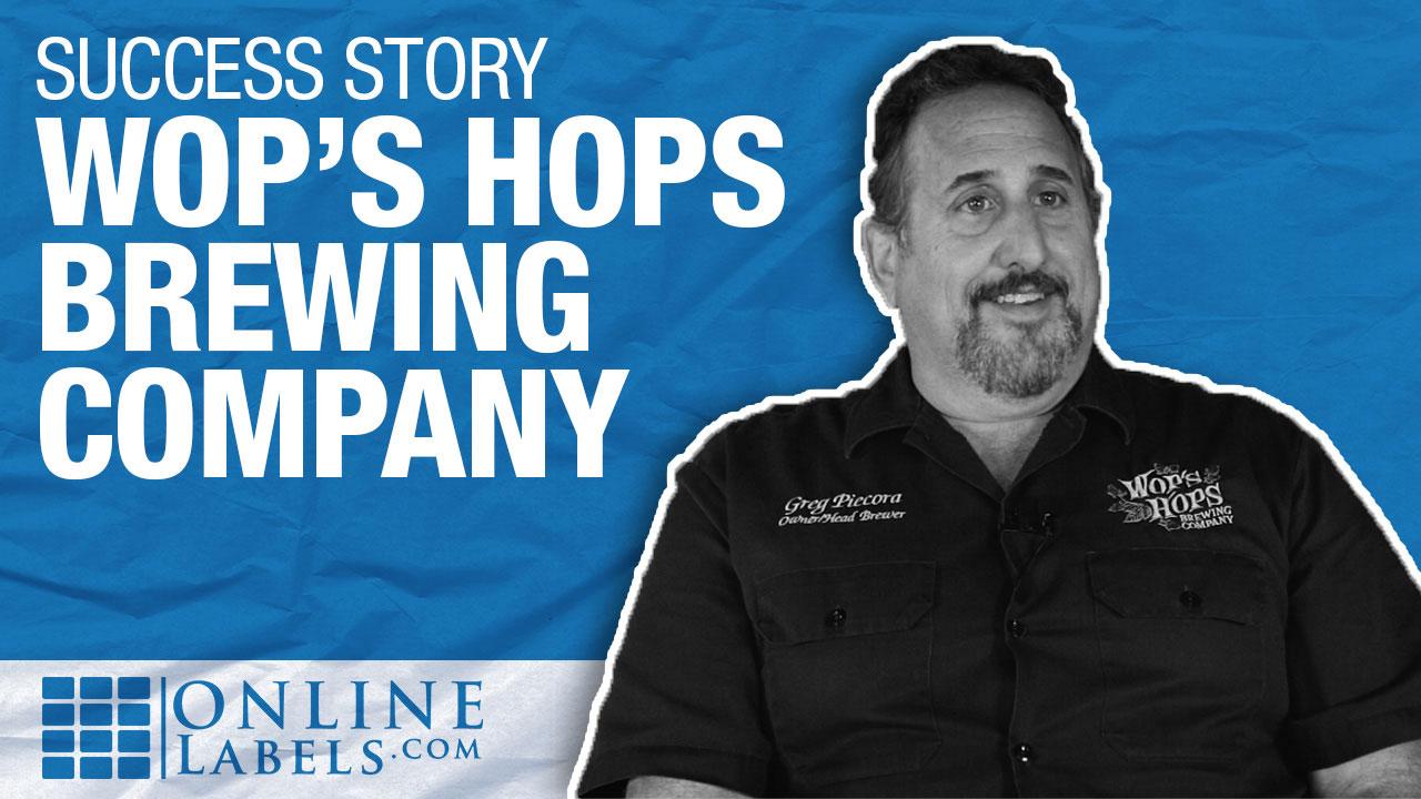 Customer Spotlight: Wop's Hops Brewing Company