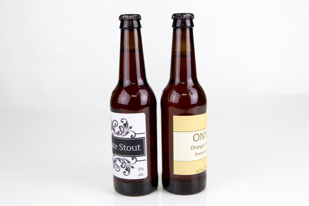 Rounded vs. Square Corner Beer Bottle Labels