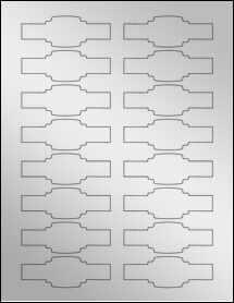 3 25 x 1 1309 buckle cigar labels cigar bands patterned silver