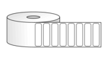 "Roll of 1.75"" x 0.5"" Labels"