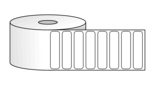 "Roll of 2"" x 0.5"" Labels"
