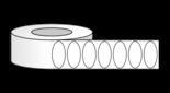 "RL4091 2"" x 1"" Oval"
