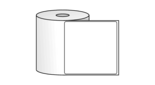 "Roll of 4"" x 4""  Thermal  labels"