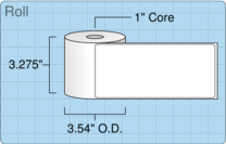 """Roll of 3.15"""" x 7""""  Thermal  labels"""