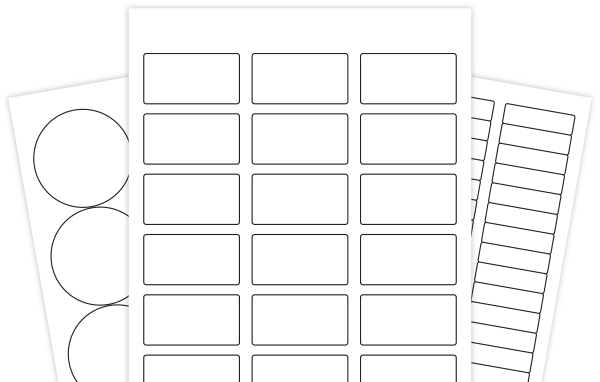 print label template