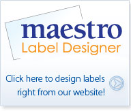 Use Maestro Label Designer