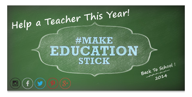 Help a Teacher and Make a Difference This Year!